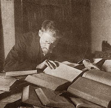 Ben-Yehuda arbejder på sin ordbog
